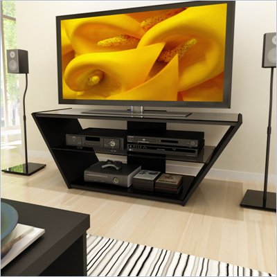 Sonax Venice 54&quot; TV Stand in Midnight Black