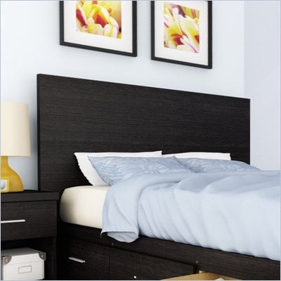 Sonax Willow Panel Headboard in Ravenwood Black