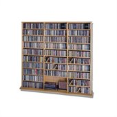 Leslie Dame Media Storage Rack Wall Unit