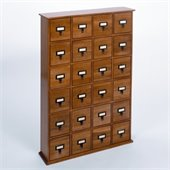 Leslie Dame 288 CD Storage Cabinet in Oak