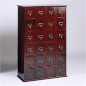 Leslie Dame 288 CD Storage Cabinet in Cherry