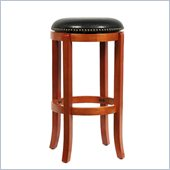 Boraam Cordova 29 Swivel Bar Stool in Light Cherry