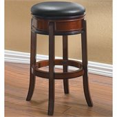 Boraam Magellan 29 Swivel Bar Stool in Brandy
