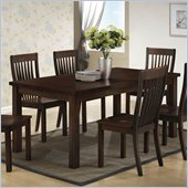 Boraam Grantsville Dining Table in Cappuccino