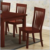 Boraam Grantsville Dining Chair in Cherry (Set of 2)
