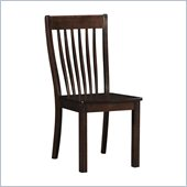 Boraam Grantsville Dining Chair in Cappuccino (Set of 2)