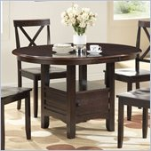 Boraam Madison Dining Table in Cappuccino