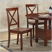 Boraam Madison Dining Chair in Cherry (Set of 2)