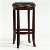 Boraam Cordova 29 Swivel Bar Stool in Cherry