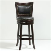 Boraam 29 Bristol Swivel Stool in Cappuccino