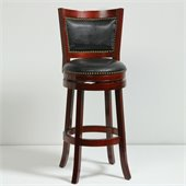 Boraam 29 Bristol Swivel Stool in Cherry