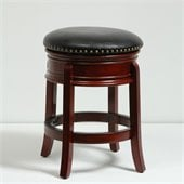 Boraam 24 Hamilton Swivel Stool in Cherry