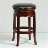 Boraam 29 Hamilton Swivel Stool in Cherry