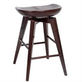Boraam 24 Bali Swivel Stool in Cappuccino