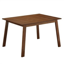 Boraam Hagen Dining Table in Rich Walnut