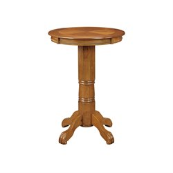 Boraam Florence Pub Table in Oak
