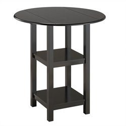 Boraam Powellton Pub Table in Black