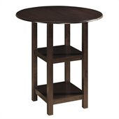 Boraam Powellton Pub Table in Cappuccino