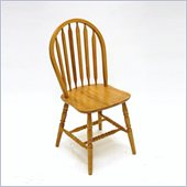 Boraam 36 Windsor Arrowback Chair in Oak (Set of 2)