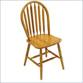 Boraam 38 Windsor Arrowback Chair in Oak (Set of 2)