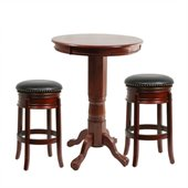 Boraam Florence 3 Piece Pub Set in Cherry