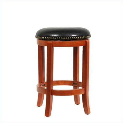 Boraam Cordova 24&quot; Swivel Counter Stool in ES Cherry