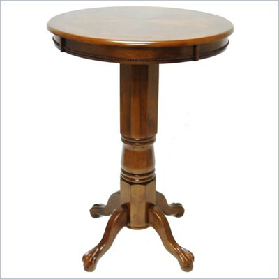 Boraam Florence Pub Table in Walnut