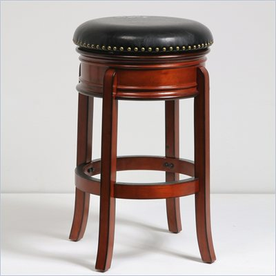 Boraam 29&quot; Hamilton Swivel Stool in Brandy