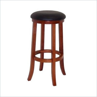 Boraam Juno 29&quot; Stationary Bar Stool in ES Light Cherry