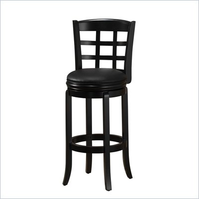 Boraam Kyoto 29&quot; Swivel Bar Stool in Black