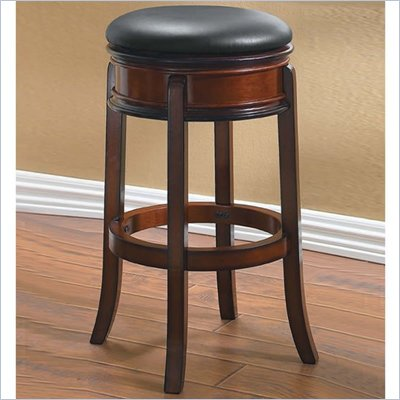 Boraam Magellan 29&quot; Swivel Bar Stool in Brandy