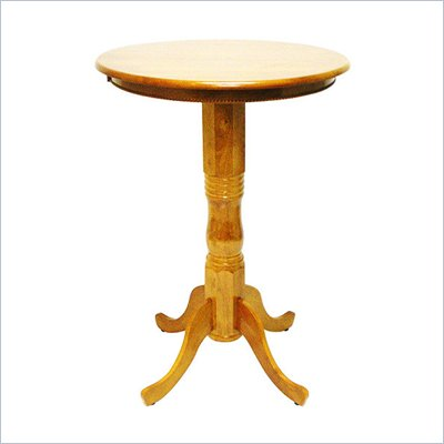Boraam Spectator 42&quot; Round Pub Table in Fruitwood