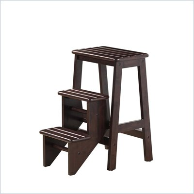 Boraam 24&quot; Stationary Bar Step Stool in Cappuccino