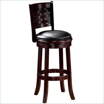"Boraam Sumatra 29"" Swivel Bar Stool in Cappuccino"