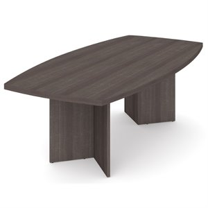 Bestar Conference Table in Bark Gray