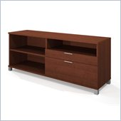 Bestar Pro-Linea Credenza in Cognac
