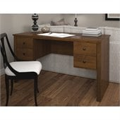 Bestar Somerville Executive Desk in Tuscany Brown