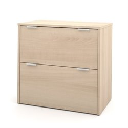 Bestar i3 Filing Cabinet in Northern Maple