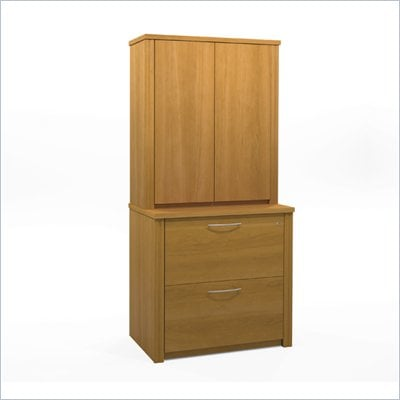 "Bestar Embassy 36"" Storage kit in Cappuccino Cherry"