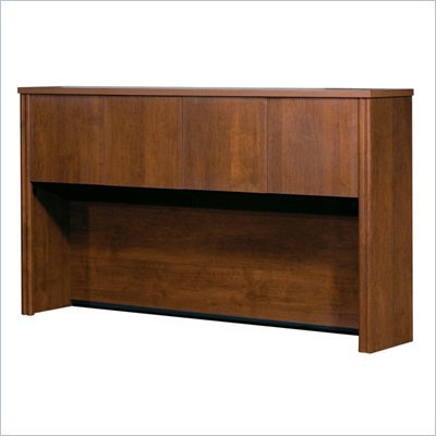 Bestar Embassy Credenza Hutch in Tuscany Brown