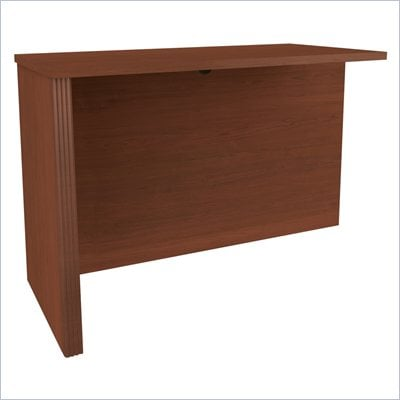Bestar Prestige + Return Table In Cognac Cherry