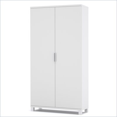 Bestar Pro-Linea Armoire in White