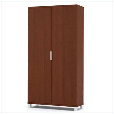 Bestar Pro-Linea Armoire in Cognac
