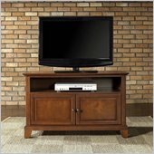 Crosley Furniture Newport 42 TV Stand in Classic Cherry Finish