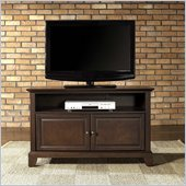 Crosley Furniture Newport 42 TV Stand in Vintage Mahogany Finish