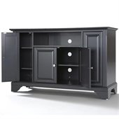 Crosley Furniture LaFayette 48 TV Stand in Black Finish