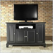 Crosley Furniture Newport 48 TV Stand in Black Finish