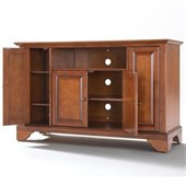 Crosley Furniture LaFayette 48 TV Stand in Classic Cherry Finish