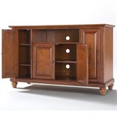 Crosley Furniture Cambridge 48 TV Stand in Classic Cherry Finish