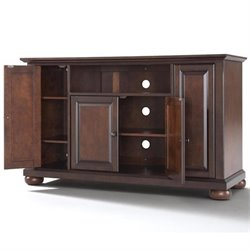 Crosley Furniture Alexandria 48 TV Stand in Vintage Mahogany Finish